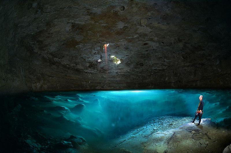 944 Удивительные подводные пещеры