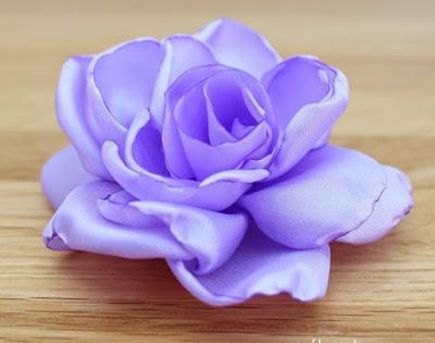 Розы из ткани мастер класс с…