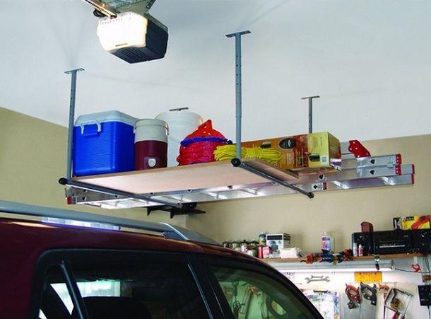 Несколько полезных идей для гаража авто, гараж, идеи, интерьер