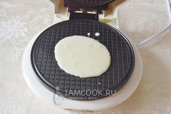 Печенье в электровафельнице рецепт с фото пошагово
