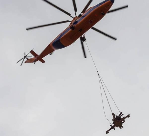 С острова в Финском заливе эвакуированы немецкие зенитки – отличились военные вертолетчики