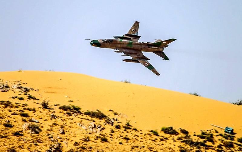 Военная обстановка в Сирии: контратака ИГИЛ, сбит истребитель МиГ-21