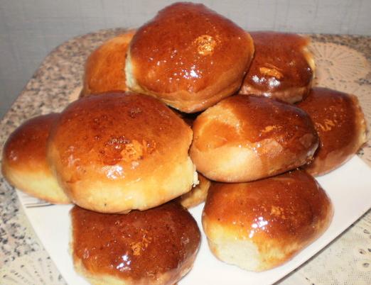 Рецепт медовых пышек