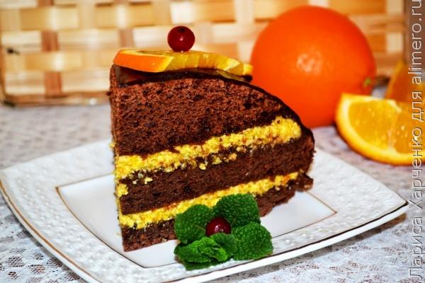 Апельсиновый крем для бисквитного торта рецепт пошагово