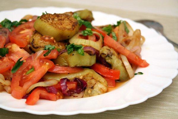 салат из баклажанов рецепт с фото