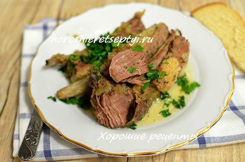 Тушеное мясо: рецепты без воды и масла