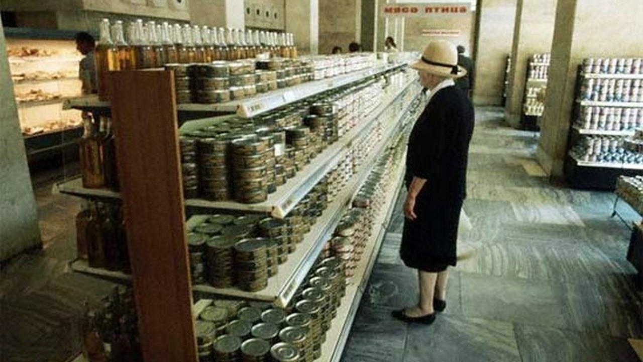 14. Товары в магазинах. 70-е, история, ссср