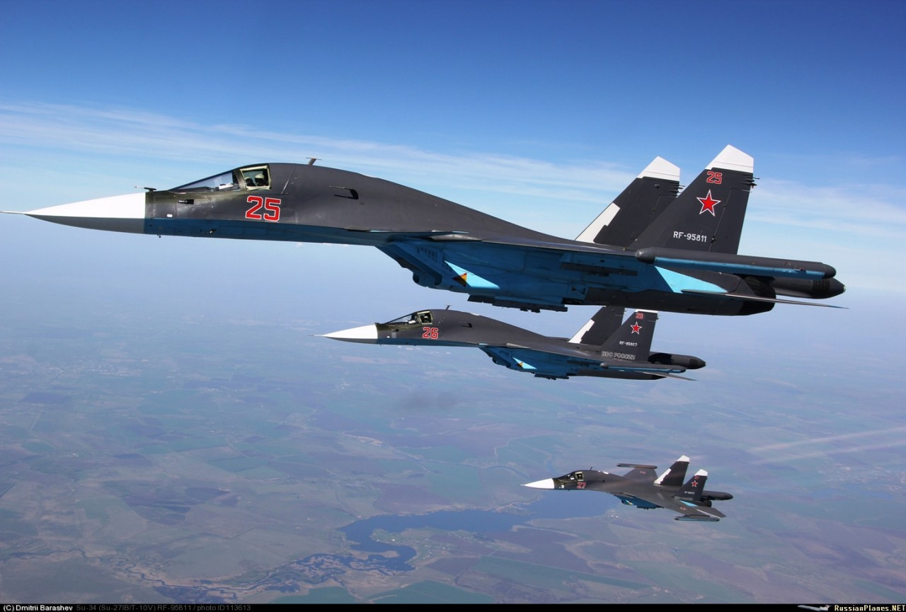 Маневры российских ВКС в Сирии продолжают впечатлять мир