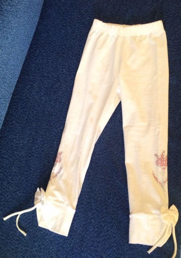 Школьные брюки резинка для девочки