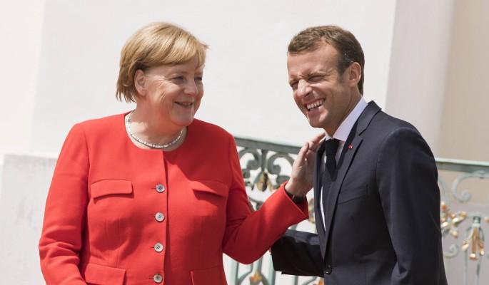 Французы приняли Меркель за …