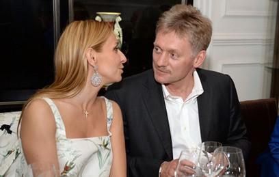 Дмитрий Песков и Татьяна Навка поженились в Сочи