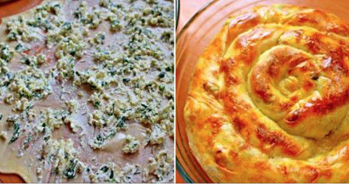 Ветрута — традиционный молдавский пирог