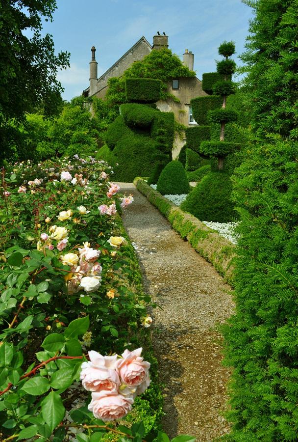 Сад Левенс Холл (35 фото)