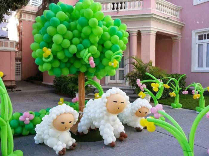 Воздушные овечки.