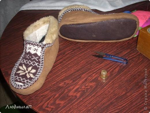 Гардероб, Шитьё, : Шьём домашние тапочки и следки. Реставрируем старые тапочки. . Фото 8