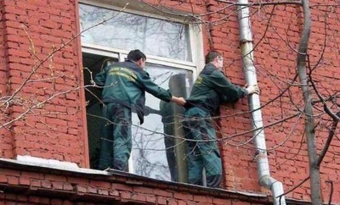 Бесподобные кадры, которые еще раз подтверждают, что умом Россию не понять!