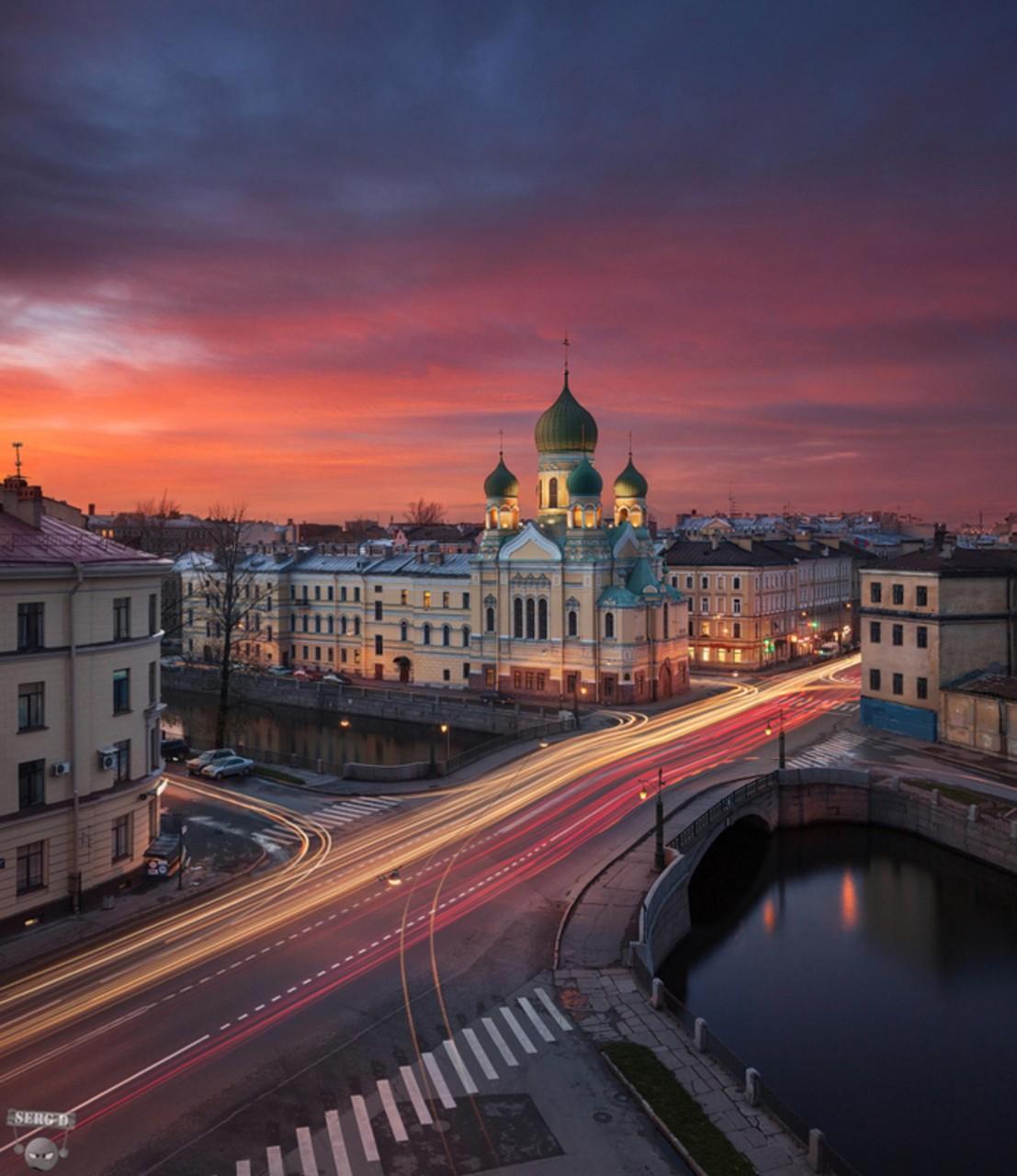 И ангел улыбается на шпиле, фотограф Сергей Дегтярев