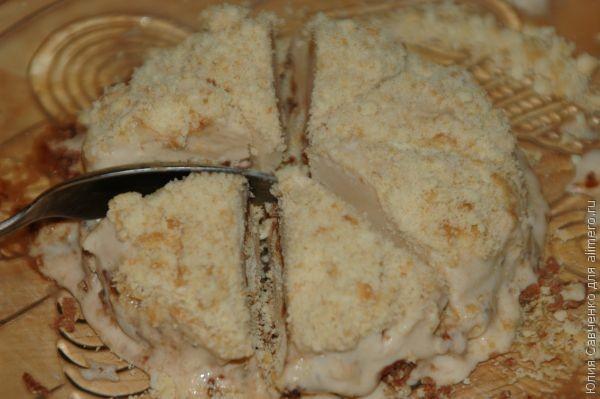 Торт-мороженое в миниатюре