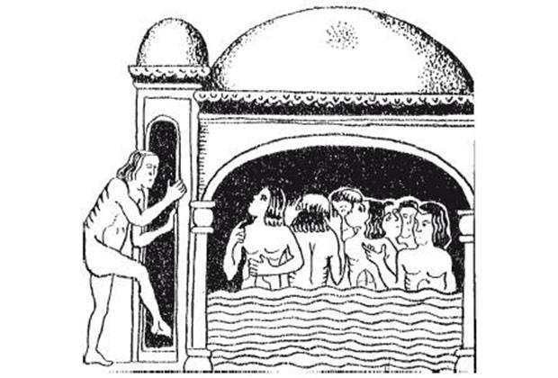 Русская баня XVII века