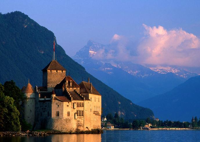 ПУТЕШЕСТВИЯ. Монтрё. Швейцария