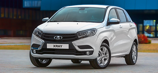 АвтоВАЗ показал серийную Lada XRAY