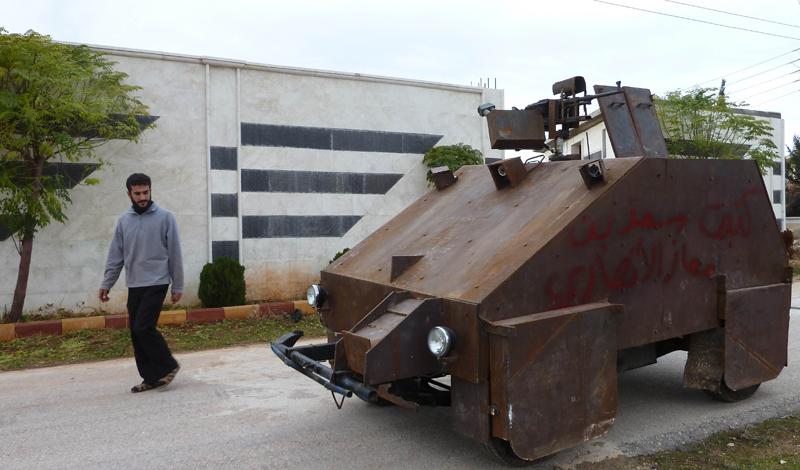 Самодельные боевые машины повстанцев