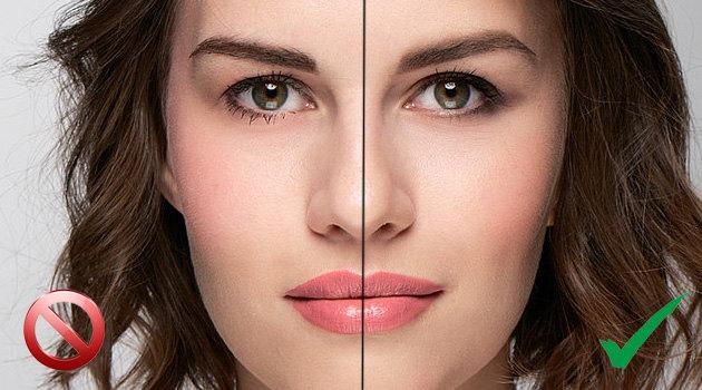 4 ошибки в макияже: учимся и исправляем!