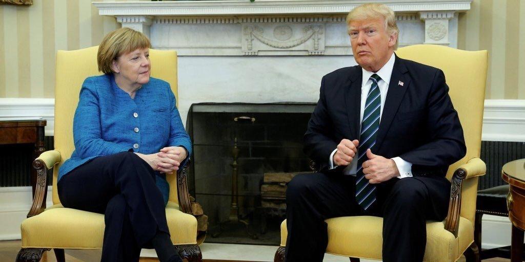 Трамп поддержал готовность Германии покупать СПГ из США