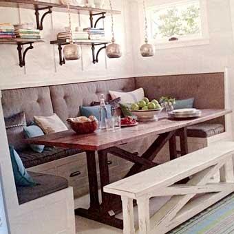 Стильные кухни кухонные уголки в стиле кантри