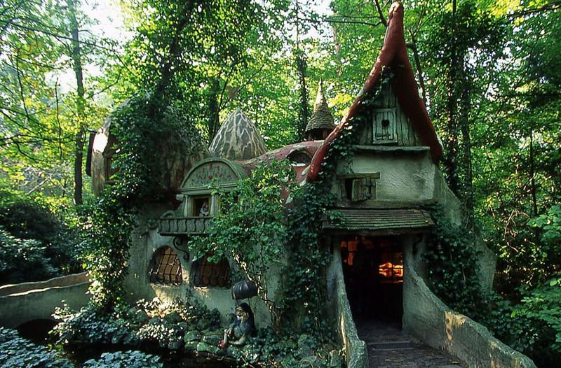 14. Лесной домик (Forest House) в Нидерландах. в мире, дом