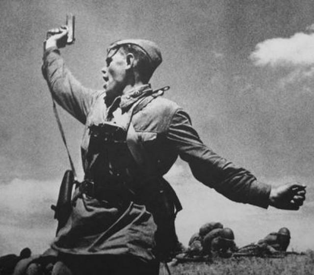 Фото атак времен Великой Отечественной Войны атака, вов, фото