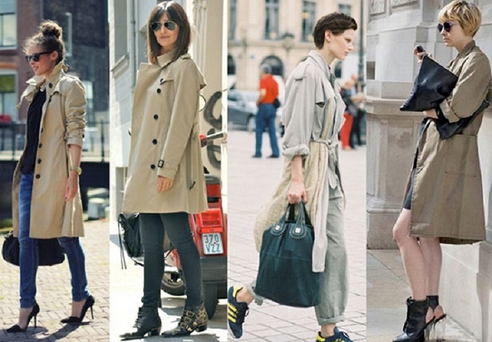 французский стиль в одежде женщины