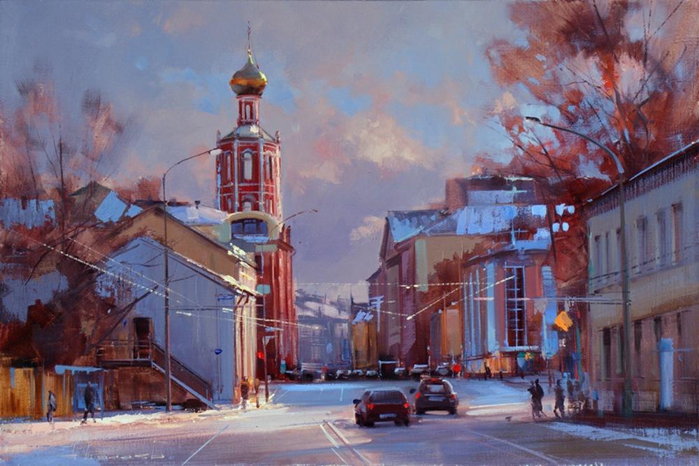 Старая Москва в творчестве художника Алексея Шалаева