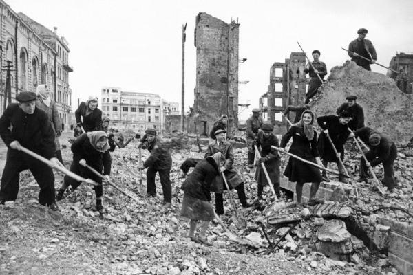 Как военнопленные и репатрианты работали на восстановлении Сталинграда
