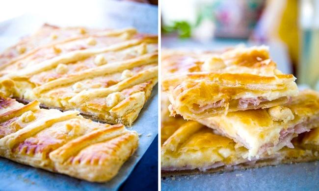 слоеное тесто с сыром в мультиварке рецепты
