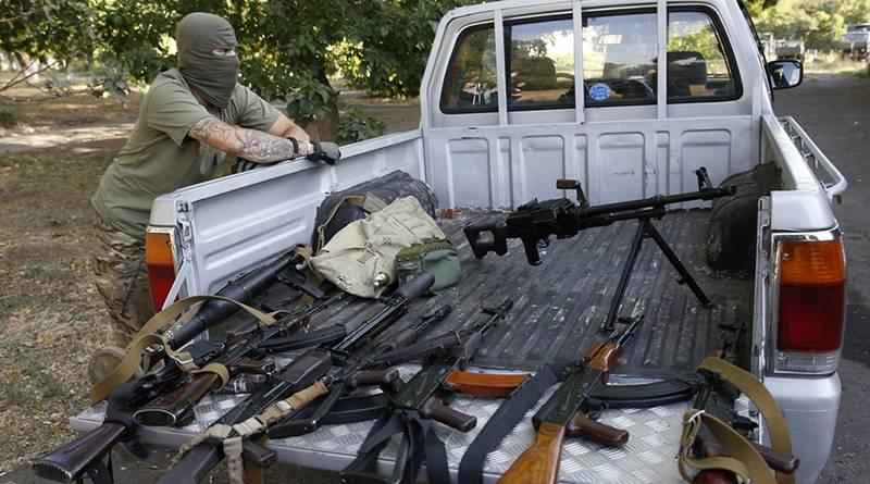 Миллионы стволов с Украины. …
