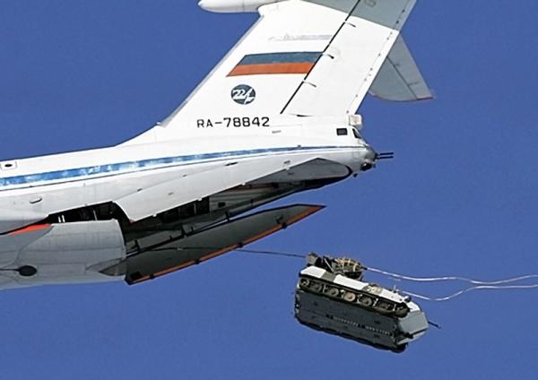 Боевая машина десанта разбилась под Улан-Удэ из-за нераскрывшегося парашюта