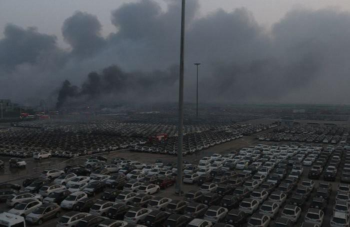Взрыв в Китае называют самым мощным неядерным взрывом за всю историю