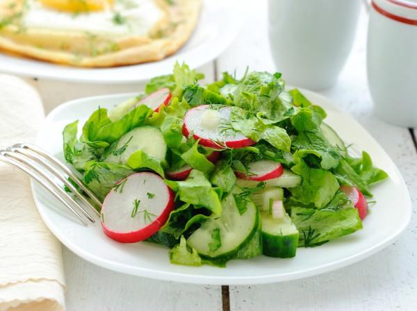 Салат с редиса с фото