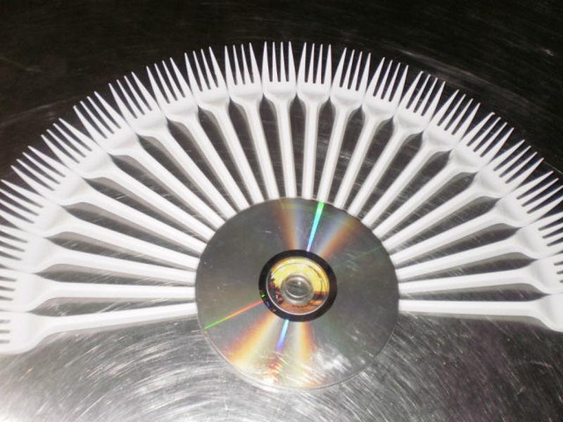 Веер из дисков