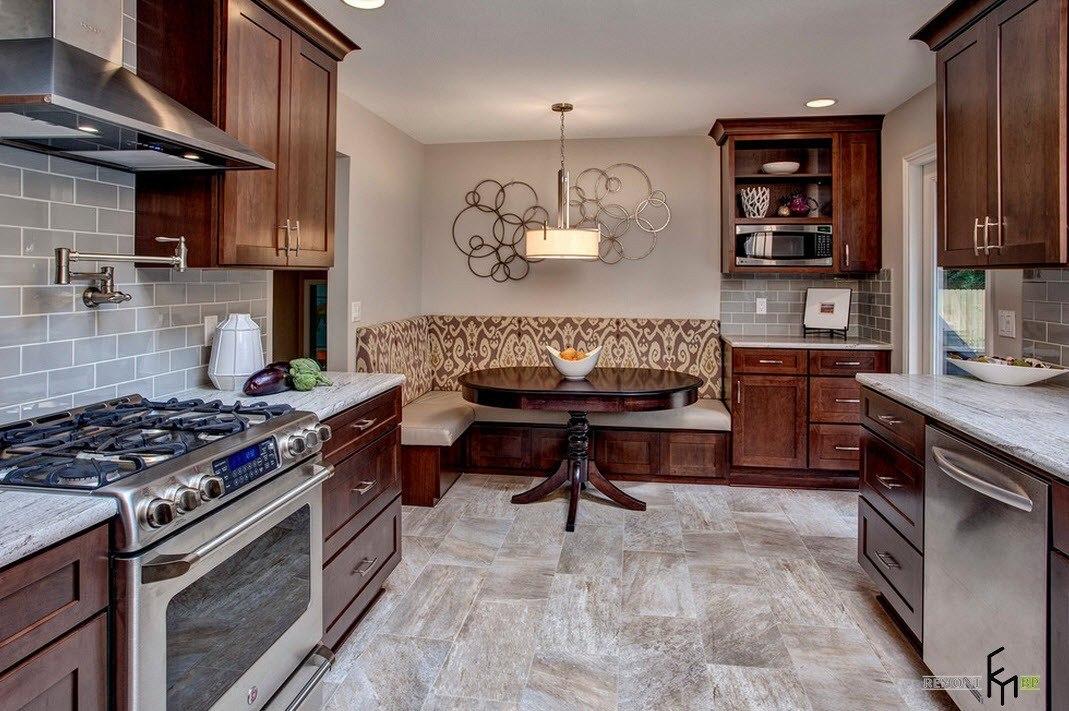 Дизайн кухни столовой интерьере на кухне