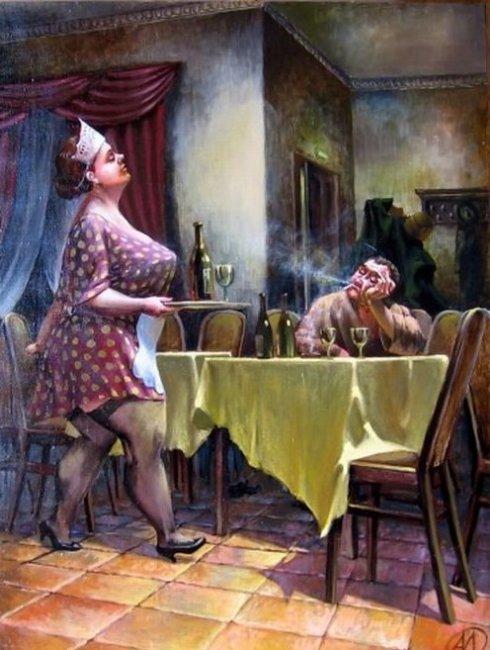 Реалистичные картины украинского художника Александра Иванова жизнь, искусство, картины, художник