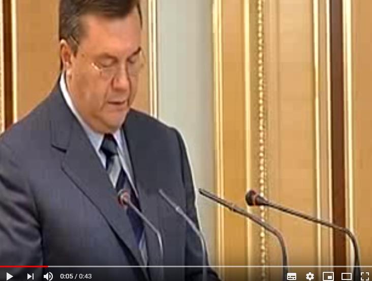 Обездвиженного Януковича экс…