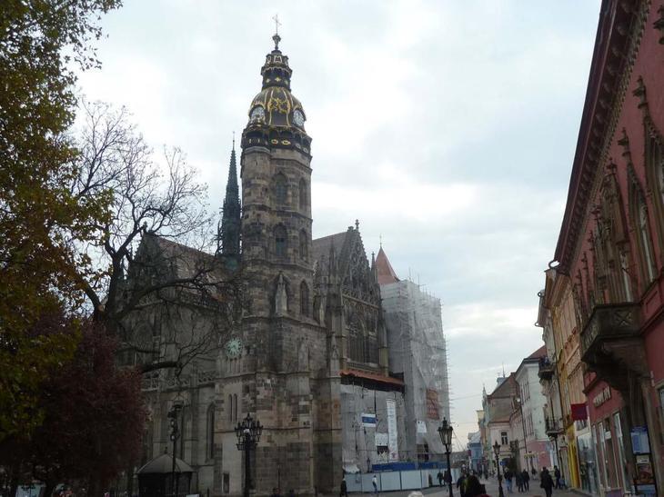 словакия собор свяой елизаветы