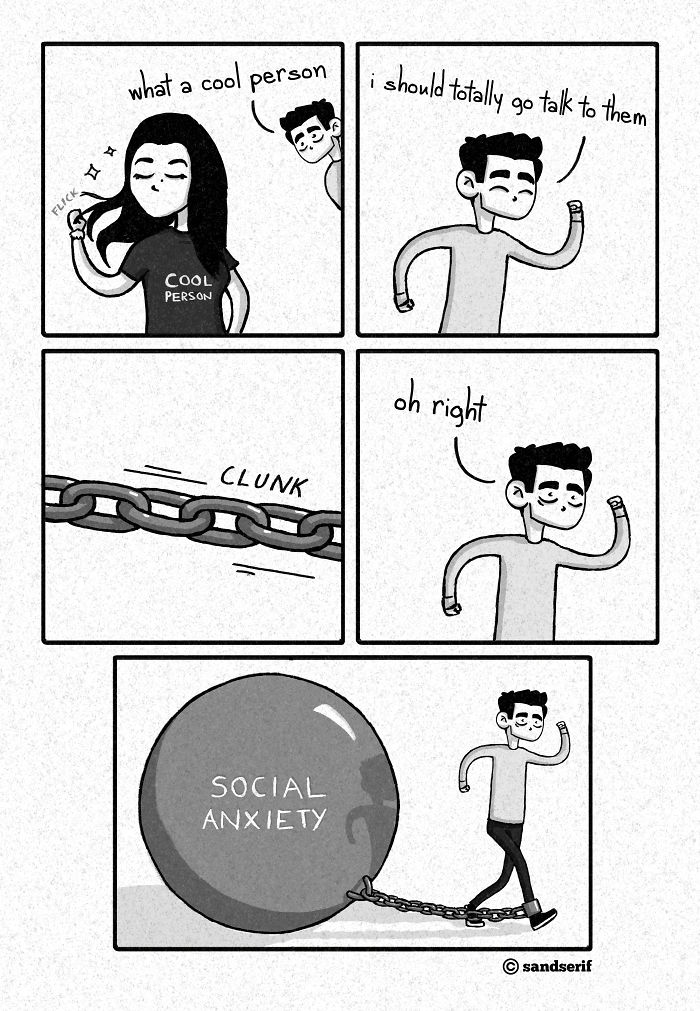 I Make Sad And Mildly Funny Comics About My Life