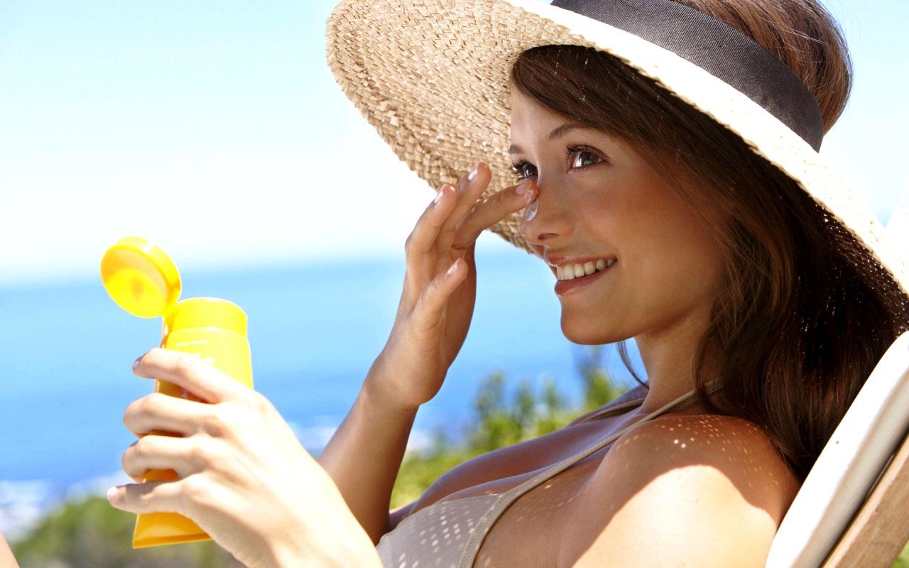 Защитить лицо от загара крем