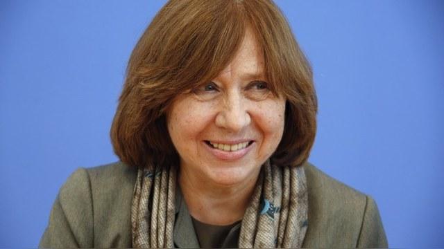 Светлана Алексиевич: Россияне агрессивны и не выносят свободы