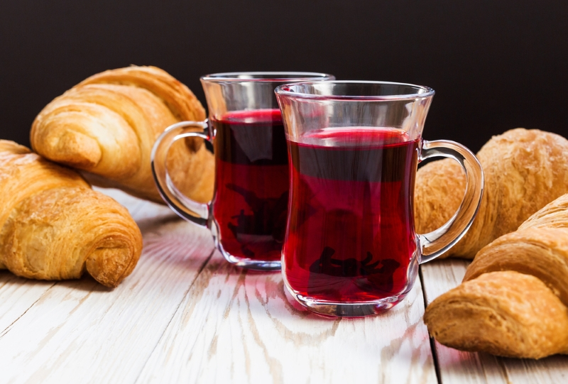 Зелье фараонов: вот чем полезен чай каркаде