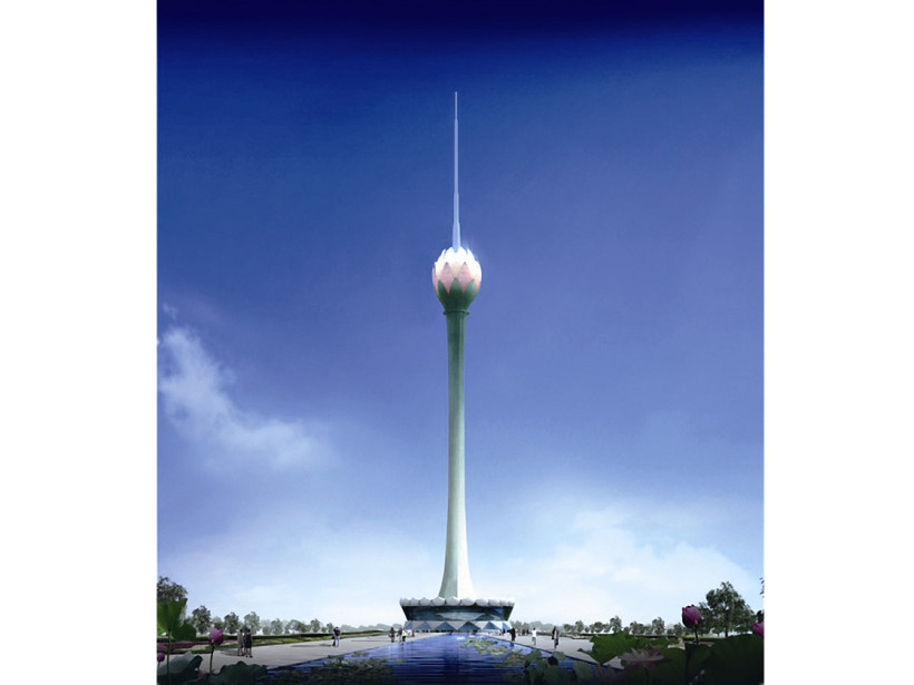 Colombo Lotus Tower в Коломбо, Шри-Ланка
