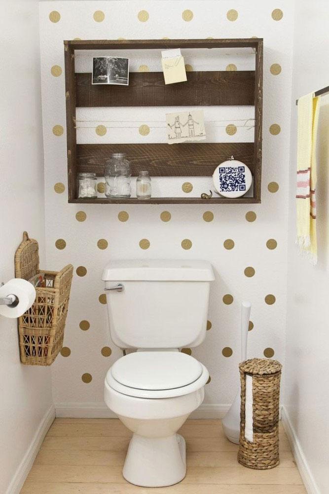 Креативные идеи для крохотного туалета